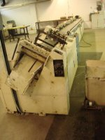 AUTOMATIC SADDLE BINDER, HARRIS, MDL MULTIBIN
