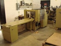 AUTOMATIC SADDLE STITCHER, MCCAIN, 8 POCKET, 