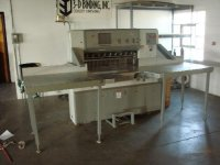 AUTOMATIC PROGRAMMABLE PAPER SHEAR, POLAR/MOH