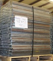 ONE LOT OF 40 PCS OF WIRE DECK, WATER FALL, S