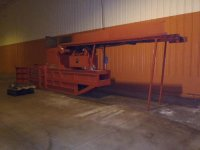 C&M Horizontal Cardboard bailer