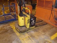YALE electric rider pallet jack 