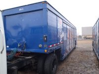 1989 Ekmer 16Bay single axle Beverage Trailer