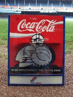 Coke Catcher Sign From Concession Stand. The
