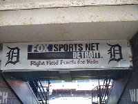 This Metal Right Field Porch For Kids Sign Wi