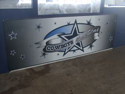 COWBOYS CHEESE STEAK SIGN 10
