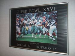 SUPER BOWL XXVII PHOTO OF EMMITT SMITH #1080