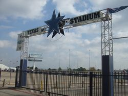 WELCOME TO THE 1ST LOT OF THE TEXAS STADIUM A
